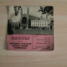 Carols sung by THE KING'S COLLEGE CHAPEL CHOIR , CAMBRIDGE (Vinyl Single)