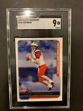 2000 PACIFIC PARAMOUNT #138 TOM BRADY NEW ENGLAND PATRIOTS ROOKIE CARD MINT 9