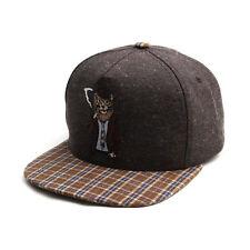 Unisex Mens Womens Smoking Animal Snapback Hip-hop Flat Baseball Cap Hats LION
