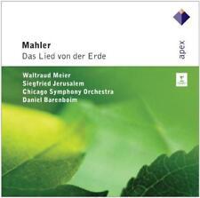 Daniel Barenboim - Mahler : Das Lied Von Der Erde (NEW CD)