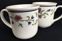 Casual Images by Lenox Rose Garden Set Of 2 Coffee Mugs 16 Oz Made In Japan