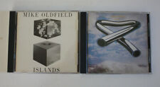 MIKE OLDFIELD Two (2) CD Lot ISLANDS Tubular Bells