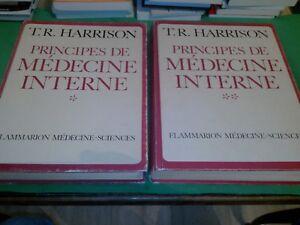 T.R. Harrison - Principes de médecine interne - Flammarion (2 tomes, 1982)