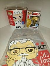 M20 Funko Shop Limited Edition Pop Tees Kfc Bucket 2Xl & Gold Colonel Sanders 05