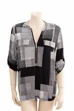 Rayon Hand-wash Only Geometric Tops for Women
