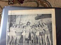 H5-1 ephemera 1961 picture article birchington panto dick whittington cleminson