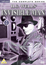 INVISIBLE MAN the complete series. H.G. Wells. Lisa Daniely. 4 discs. New DVD.