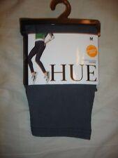 HUE 1 Pair DENIM Legging M U16924 NWT THUNDER Pants Real Pockets Brand New