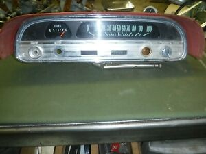 1963 Chevrolet Corvair Gauge Cluster Assembly Used OEM