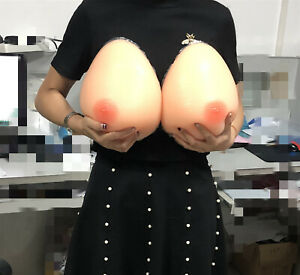 Silicone Self-adhesive Breast Forms AAA-GG Boobs False Enhancer Transgender LOT