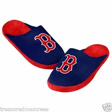 Boston Red Sox Team Jersey Indoor/Outdoor Slippers ~ Size XL (13-14) ~NWT
