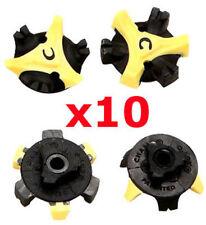 10x Stinger Q-Lok Golf Shoe Spike Fast Twist Screw Studs Replacement Cleat Champ
