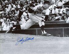 Johnny Antonelli NY Giants ace signed 8x10 photo autograph not JSA PSA BSA