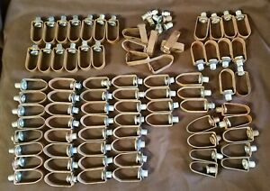 """79 Adjustable Band Loop Hangers Copper Tube 1/2"""" to 1"""""""