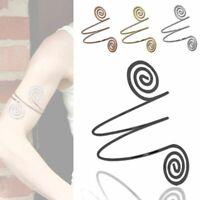 Spirale Oberarmreif Armband Armspange Accessoires Vintage Accessoires Bangle