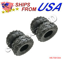4 pack of 145x70-6 Rear Front Tire 145/70-6 ATV 50cc 70cc 110cc Quad Go Kart