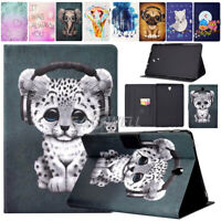 For Samsung Galaxy Tab E 9.6 SM-T560 T561 Printed Leather Smart Cover Case Gift