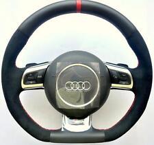 AUDI S Line ALCANTARA A3 S3 A4 S4 A5 S5 A6 S6 A8 TT RS R8 Q5 Q7 Steering wheel