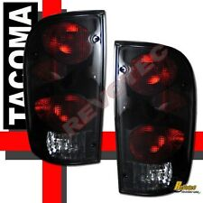 Black Smoke Tail Lights 1 Pair For 95-00 Toyota Tacoma 96 97 98 99