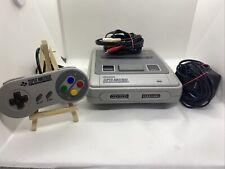 Super Nintendo Entertainment System Konsole /SNES Komplett 1 Zufalls Spiel Retro