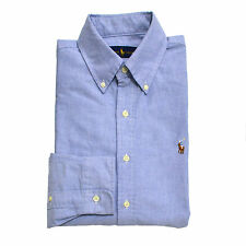Polo Ralph Lauren Shirt Mens Standard Fit Oxford Long Sleeve Buttondown New Nwt