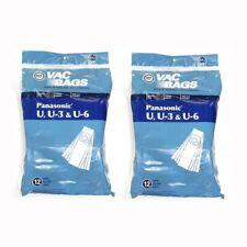 Panasonic Type U U-3 U-6 Vacuum Cleaner Paper Bags 24pk