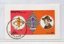 Staffa Escocia Boy Scouts hojita del año 1976 (DQ-754)