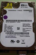 WD5000BMVW-11AMCS2 DCM: SH0T2HB | 12 DEC 2012 | 500GB #02
