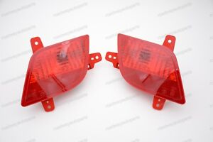 1Pair Rear Bumper Reflector Light tail fog lamps for Buick Encore 2013-2015