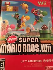 Super Mario Bros. Wii (Nintendo Wii, 2009) Complete FAST SHIPPING