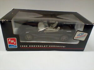 ERTL AMT Promo Built Model Car Black Corvette 8089  New