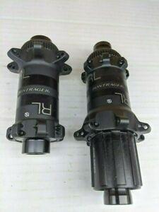 NOS Bontrager RL hub set black straight pull spline NEW