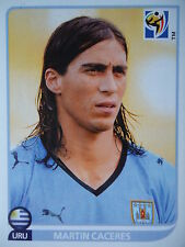 Panini 74 Martin Caceres Uruguay FIFA WM 2010 Südafrika