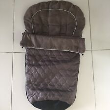 ONE LEFT! SLEEPING BAG FOOT MUFF Steelcraft STRIDER STROLLER TOFFEE BROWN RARE