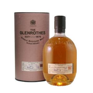 Glenrothes 1987 70cl 43% Single Malt Scotch Whisky