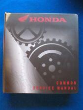 New Honda Common Service Manual Motorcycle Atv Pwc Theory Maintenance Book P145