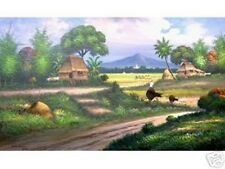 Countryside 36x60 Art Painting Philippines Oil Painting