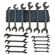 Martin 15 Pc. Hydraulic Wrench Set, Angle Opening, Industrial Black, SAE BOB15K