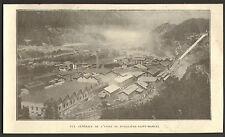 73 POMBLIERE SAINT-MARCEL ACIERIES ELECTRIQUES UGINE IMAGE 1924