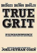 True Grit Jeff Bridges Matt Damon Josh Brolin New & Sealed DVD 2011