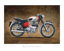Royal Enfield Constellation 700 - Limited Edition Collectors Print by Steve Dunn