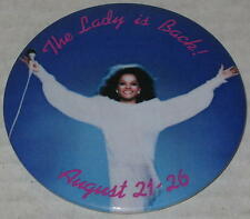 """Diana Ross """"The Lady Is Back!"""" Tour Pin 3"""""""