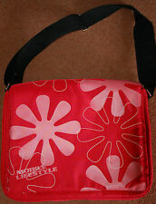 NEW LARGE Golla Red Mobile Lifestyle Laptop Messenger bag Padded Strap School