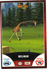 Vignette de collection autocollante CORA Madagascar 3 n° 4/90 - Melman