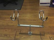 12 inch T-bar stainless stem 2 holders Un-Coated Look Out Crappie Reel Fisherman