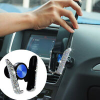Universal Bling Crytal Car Phone Holder Air Vent Mount Stand for Phone Pad GPS