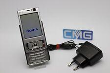 Nokia n95-Plata (sin bloqueo SIM), Smartphone WiFi cámara usado #a4