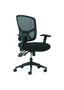 Sadie Customizable Ergonomic High-Back Mesh Task Chair with Arms and Lumbar S...