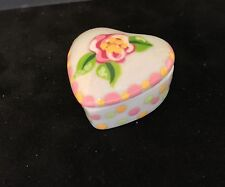 Collectable Porcelain Hand Painted Tiny Box