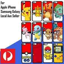 iPhone 7 4s 5 5s SE 5c 6 6s Plus Galaxy S7 S6 S5 S4 Edge Pokemon Go Bumper Case